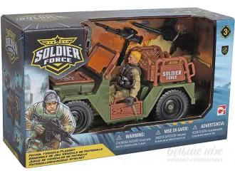 545006-1 Set de joaca cu soldati PATROL JEEP