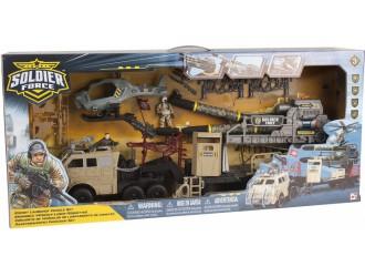 545066 Set de joaca cu soldati ROCKET LAUNCHER