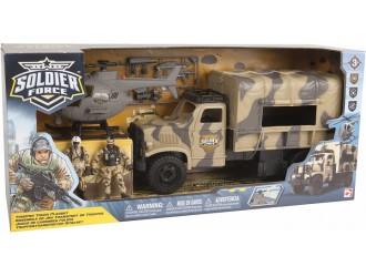 545059 Set de joaca cu soldati TROOPER TRUCK
