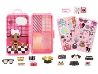 560432 Set L.O.L. Surprise Valiza Style Suitcase D.J.
