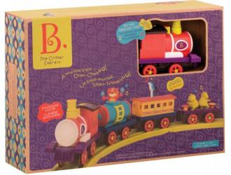 BX1742Z Set de joc cu calea ferata - BATTATOEXPRESS S2 (sonor, 4 vagoane, diametru 91 cm)