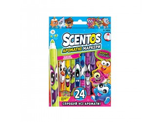40722 Set markere aromate cu virf subtire (24 de culori)