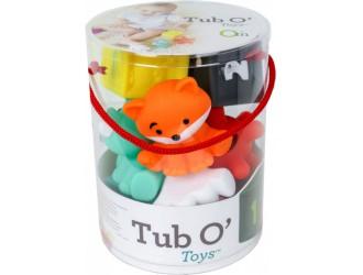 216289l Set jucarii diverse forme in tub Infantino