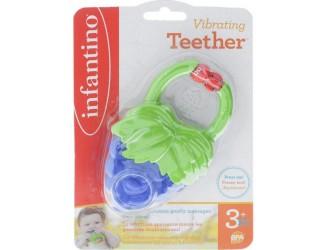 216538l Прорезыватель для зубов с вибрацией Infantino Виноград