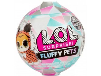 559719 Set animalut L.O.L. Surprise! Fluffy Pets Winter Disco (asortiment)