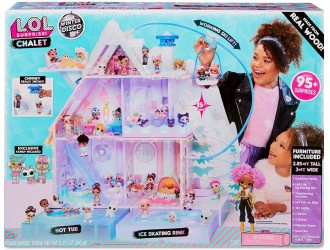 562207 Mega Set Casa L.O.L. Surprise! Winter Disco CHALET