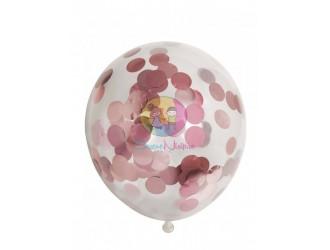 29831 Set Baloane cu confeti 6 PCS