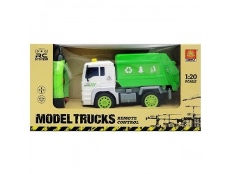 WY1520A  Masina cu radio-control Sanitation Truck (lumina / sunet)