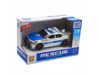 """WY500B  Masina cu inertie """"Police Car"""" (lumina / sunet)"""