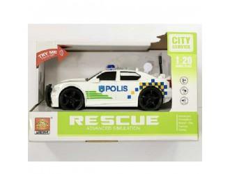"""WY500E  Masina cu inertie """"Police Car"""" (lumina / sunet)"""