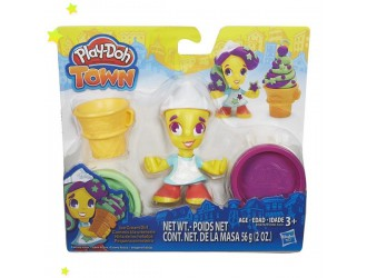 B5960 PD PLAYDOH TOWN FIGURE AST