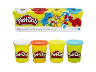 B6508 Play-Doh Set 4 Culori