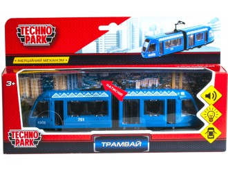 SB-17-51-WB (IC) Модель TehnoPark Трамвай Киев со светом и звуком