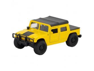 SB-18-09-H1-N(Y)-WB Автомодель Techno Park Hummer H1 Желтый