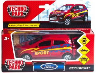 SB-18-21-S-WB Автомодель Технопарк Ford EcoSport