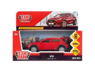 QX30-RD Автомодель Технопарк INFINITI QX30 красный 1:32
