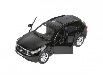 QX70-BK Автомодель Технопарк INFINITI QX70 черный 1:32