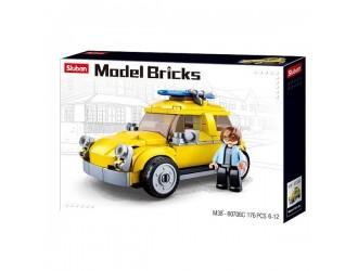 B0706C CONSTRUCTOR MODEL BRICKS  BEETLE CAR