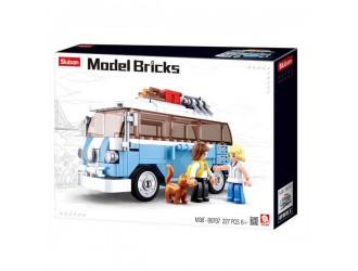 B0707 CONSTRUCTOR MODEL BRICKS  T1 CAR