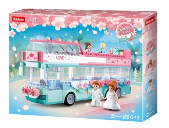 B0769 CONSTRUCTOR GIRL IS DREAM HAPPY DIARY WEDDING BUS