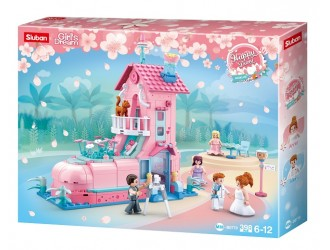 B0770 CONSTRUCTOR GIRL IS DREAM HAPPY DIARY WEDDING ROOM