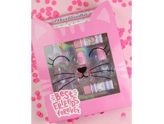 30418 Набор косметики Martinelia Лучшие друзья навсегда Розовый кот