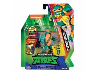 80828 Figurina Testoasa Ninja Michelangelo 12 cm cu accesorii TMNT