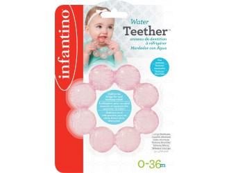 206301I Jucarie pentru dentitie cu apa Infantino (roz)