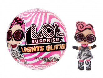 564829 Set papusa  L.O.L. Surprise! LIGHTS GLITTER