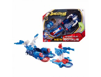 EU684301 Masina Transformer SCREECHERS WILD! S2 L2 - ROYALIS