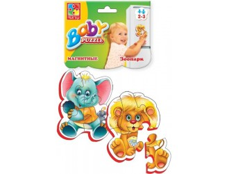 """VT3208-01 Baby Puzzle magnetic """"Zoo"""""""