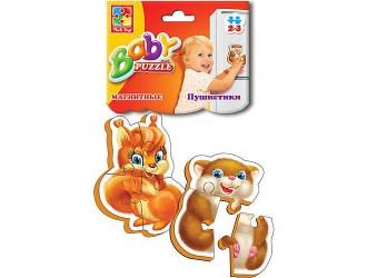 """VT3208-04 Baby Puzzle magnetic """"Pufosii"""""""