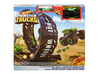 GKY00 Hot Wheels Monster Trucks Set Epic Loop Challenge