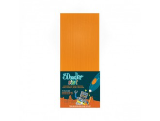 3DS-ECO06-ORANGE-24 Set de tije 3Doodler Start