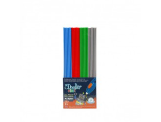 3DS-ECO-MIX2-24	Set tije pentru 3D-pix  3Doodler Start - Mix