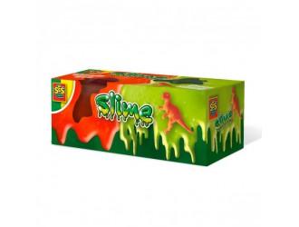 15005S Slime-lizun - T- REX (240 g, 2 borcane in sortiment, figurina)