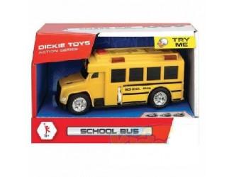 """3302017Dickie auto """"Autobuz scolar""""sun.lum15 cm"""