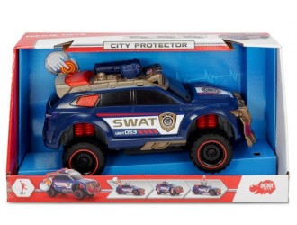 "3308380 Автомобиль Дики ""Jeep City Protector"" sun & lum 33 см"