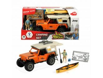 """3835004Dickie auto PL""""Camping"""" sun.lum 22 cm"""