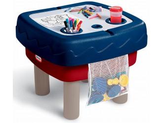 451T10060  Masuta de joaca 2 in 1 pentru desen si nisip Little Tikes
