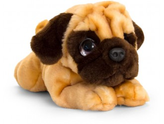 SD2537 Jucarie moale Signature Cuddle Puppy 32cm-Mops