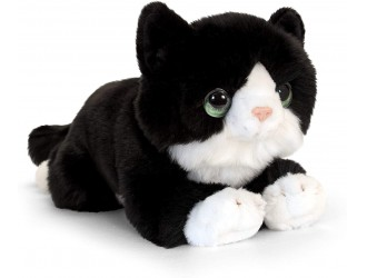 SC2648 Jucarie moale Signature Cuddle Pisica 32cm - Neagra