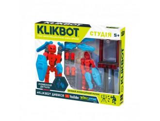 TST2600Blu Set Figurina Stikbot Klikbot cu Stativ S1 (albastru)