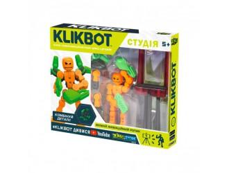 TST2600G Set de joacai KLIKBOT S1 pentru animatie - STUDIO (2 figuri exclusive, trepied, verde)