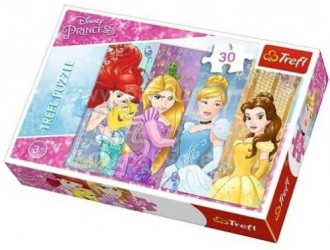 18205 Trefl Puzzles 30 Fairytaleprincesses