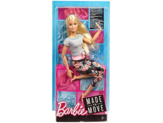 FTG80 Кукла Barbie Made to Move