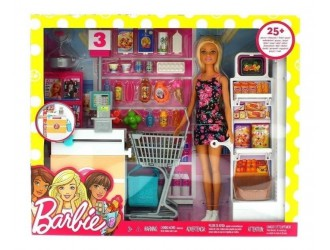 FRP01 Set Papusa Barbie Supermarket
