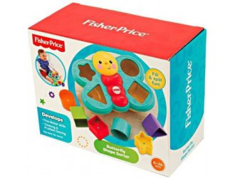CDC22 Fisher-Price Fluture cu forme