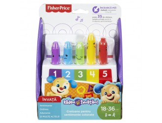 FLN96 Fisher-Price Creioane Colorate (rom)