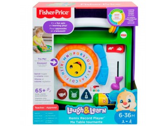 FBM60 Fisher-Price Jucarie interactiva Player Muzical (rus-engl)